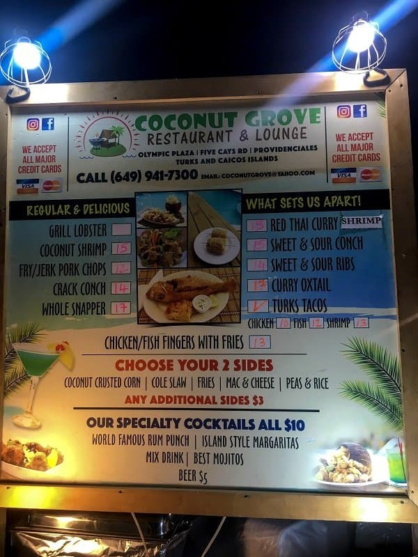 Coconut grove Thursday fish fry