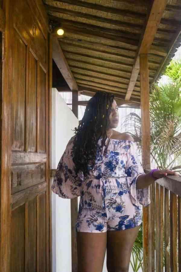 Bali lookbook - asos romper
