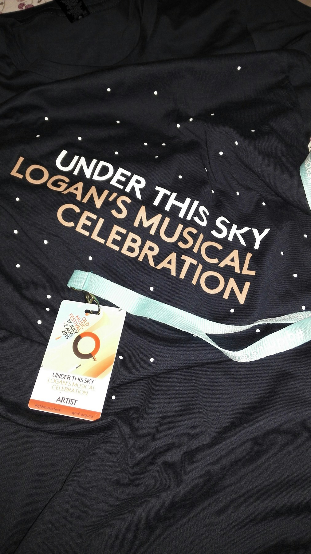 Festival pass and a t-shirt