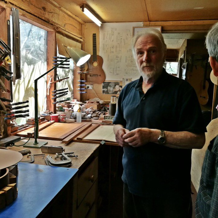 Melbourne luthier classical guitars Richard Howell, Richard Howell, Luthier