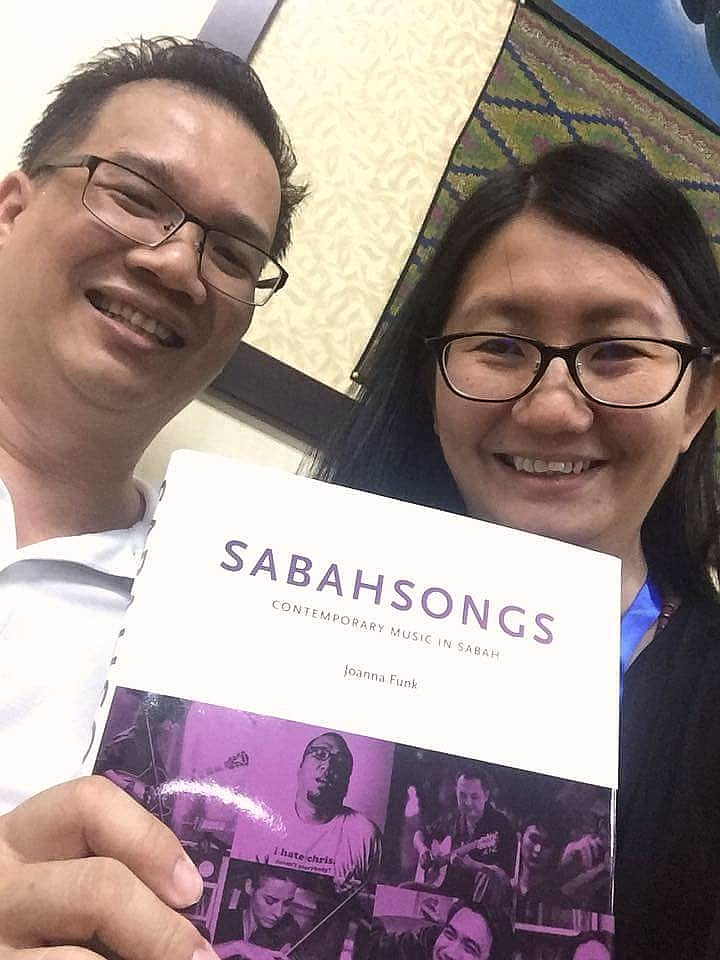 Ethnomusicology scholars pick up my book!