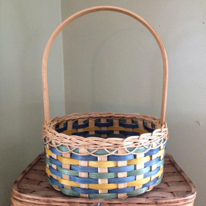 Victorian Easter Basket Large Joannas Collections