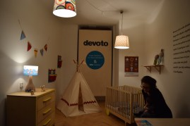 Devoto is a Czech family company, founded by Luke Lédl and Peter Port in 2008. Devoto refers to the devotion and loyalty. The furniture designed and manufacture is especially for children. The design is usually simple combination made by wood. Devoto also works with other designers, like dolls.