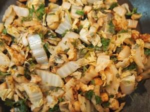 Nutty Garam masala stir fry