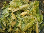 Tasty Ceasar Salad - covered in dressing