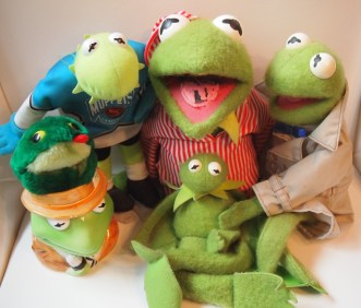 My Kermit family - surround yourself with other Green minded individuals