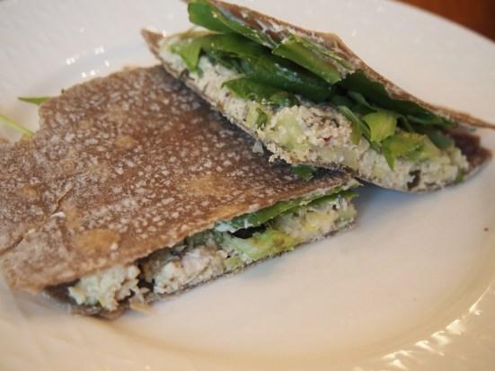 Nutty Cashew Vegan Buckwheat Sandwich