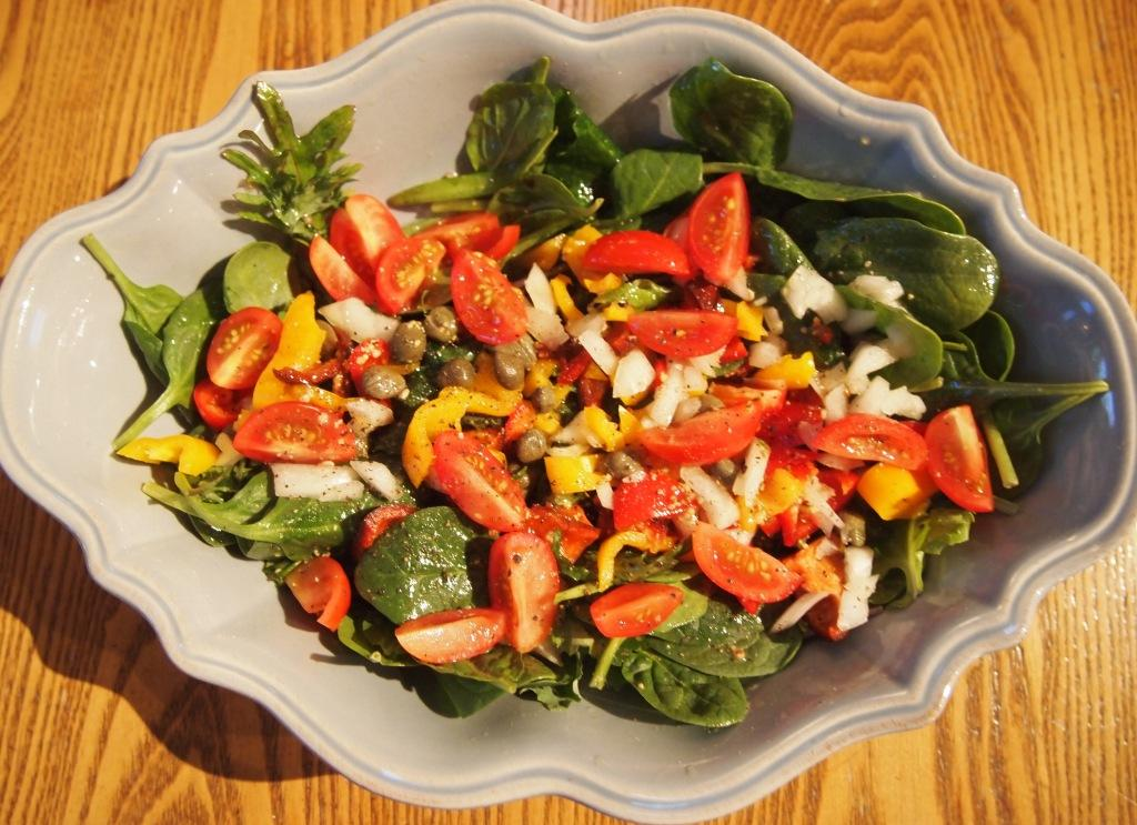 Gratitude Salad And The Sounds Of Spring – A Feast For Your Eyes And Ears