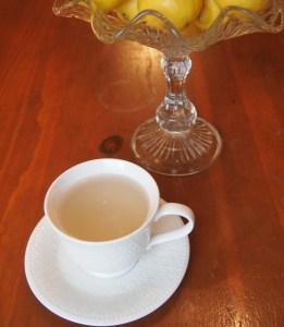 Ginger Tea in Tea Cup