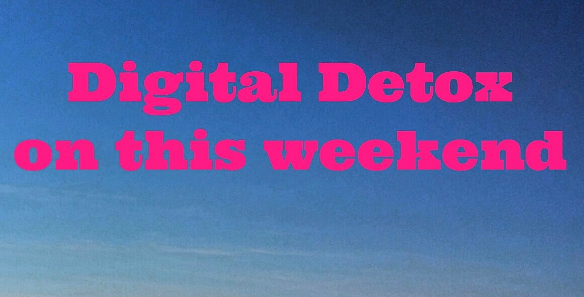 Digital Detox - Copyright Jo-Ann Blondin