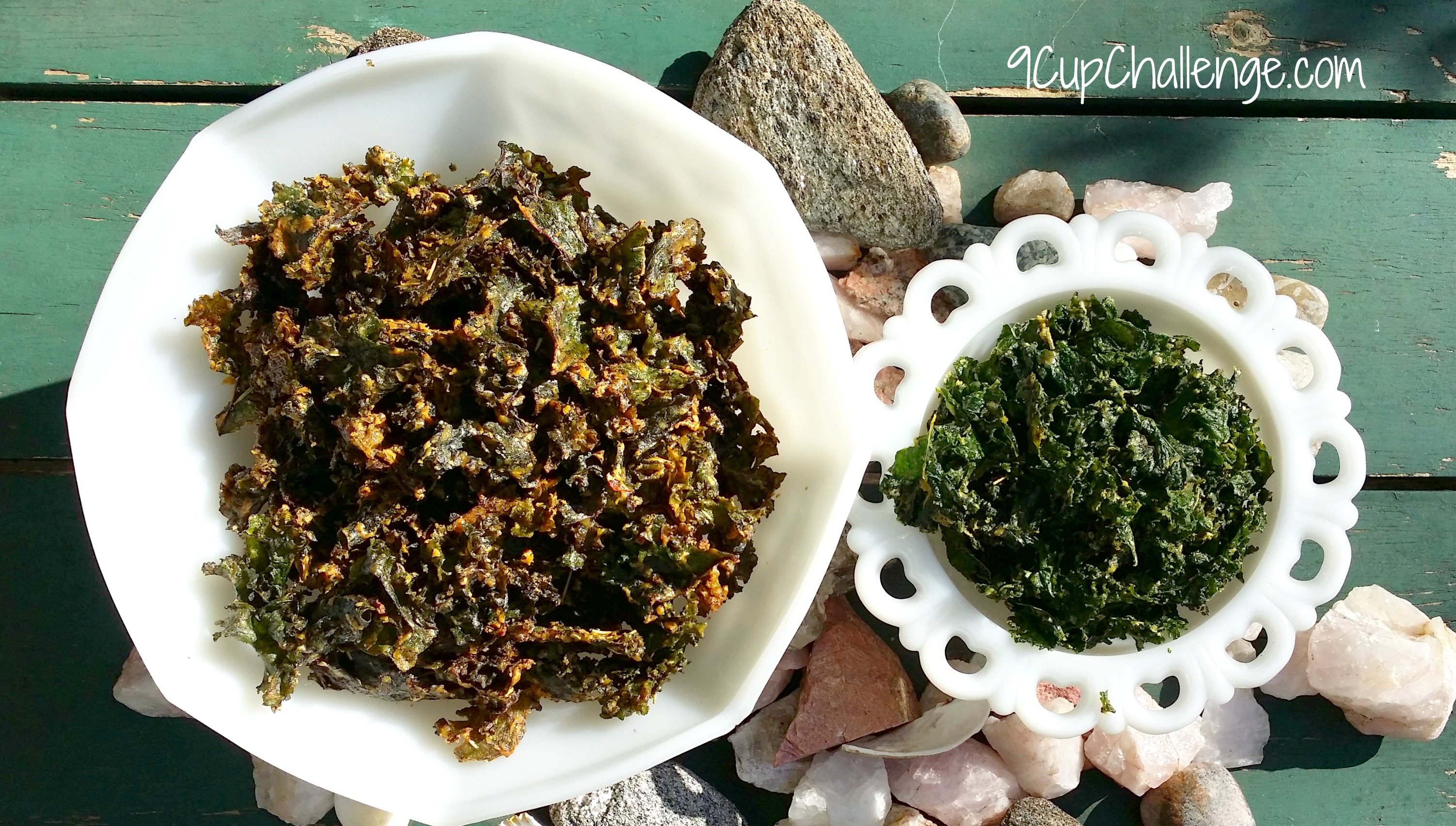 Krazy For Kale Chips – Hot And Smoky
