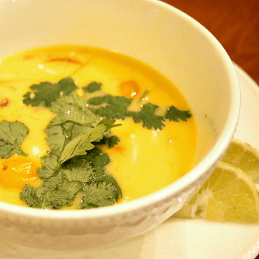 Colourful Spicy Thai Soup by Jo-Ann Blondin