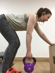 I will be including photographs on my website to demostrate various exercises that can be done at home.