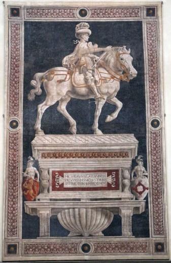 Andrea_del_castagno,_Monumento_equestre_di_Niccolò_da_Tolentino,_1456,_01