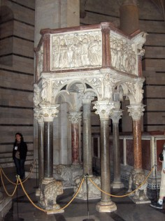 Pisa.Baptistery.pulpit01