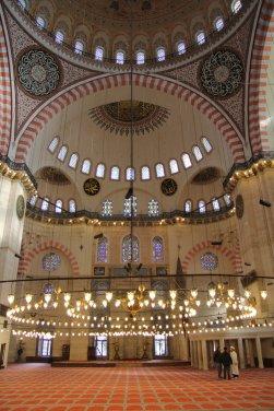 Süleymaniye_-_Gebetsraum