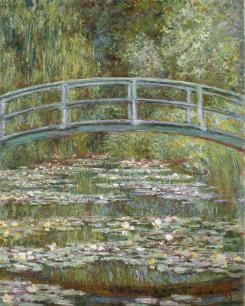 The_Water-Lily_Pond_1899_Claude_Monet_Metropolitan