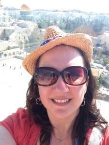 Selfie in Jerusalem