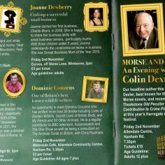 Wimborne Literacy Festival 2012