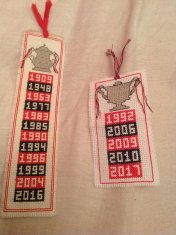 Cup winning years bookmarks