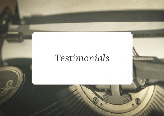 Joanne Mallon testimonials