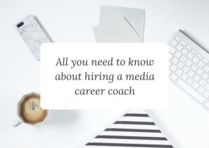 media career coaching info