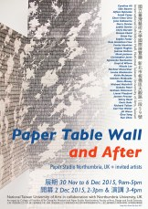 Paper Table Wall and After, NTUA, Taiwan