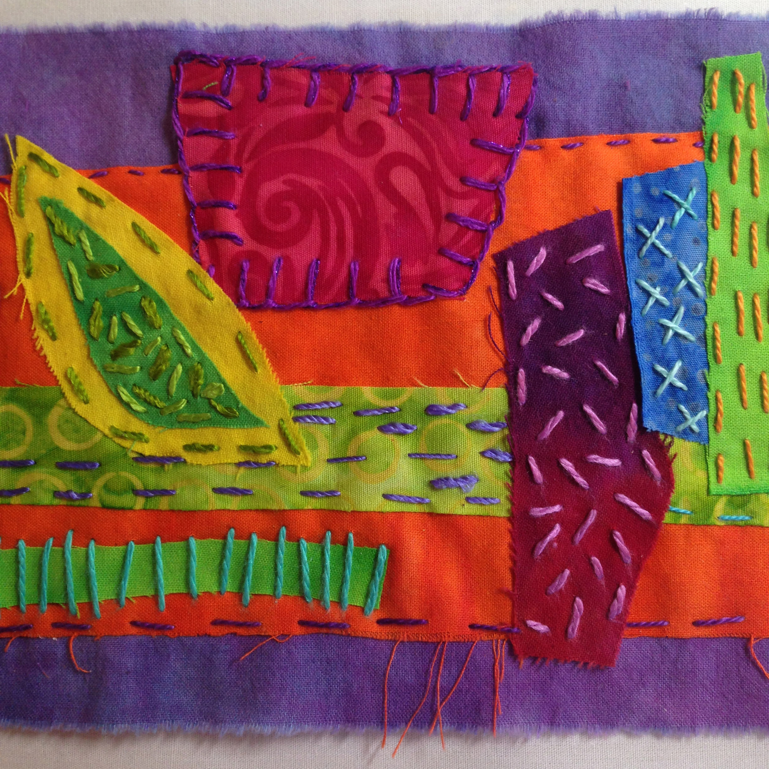 Art Quilt and Stitch