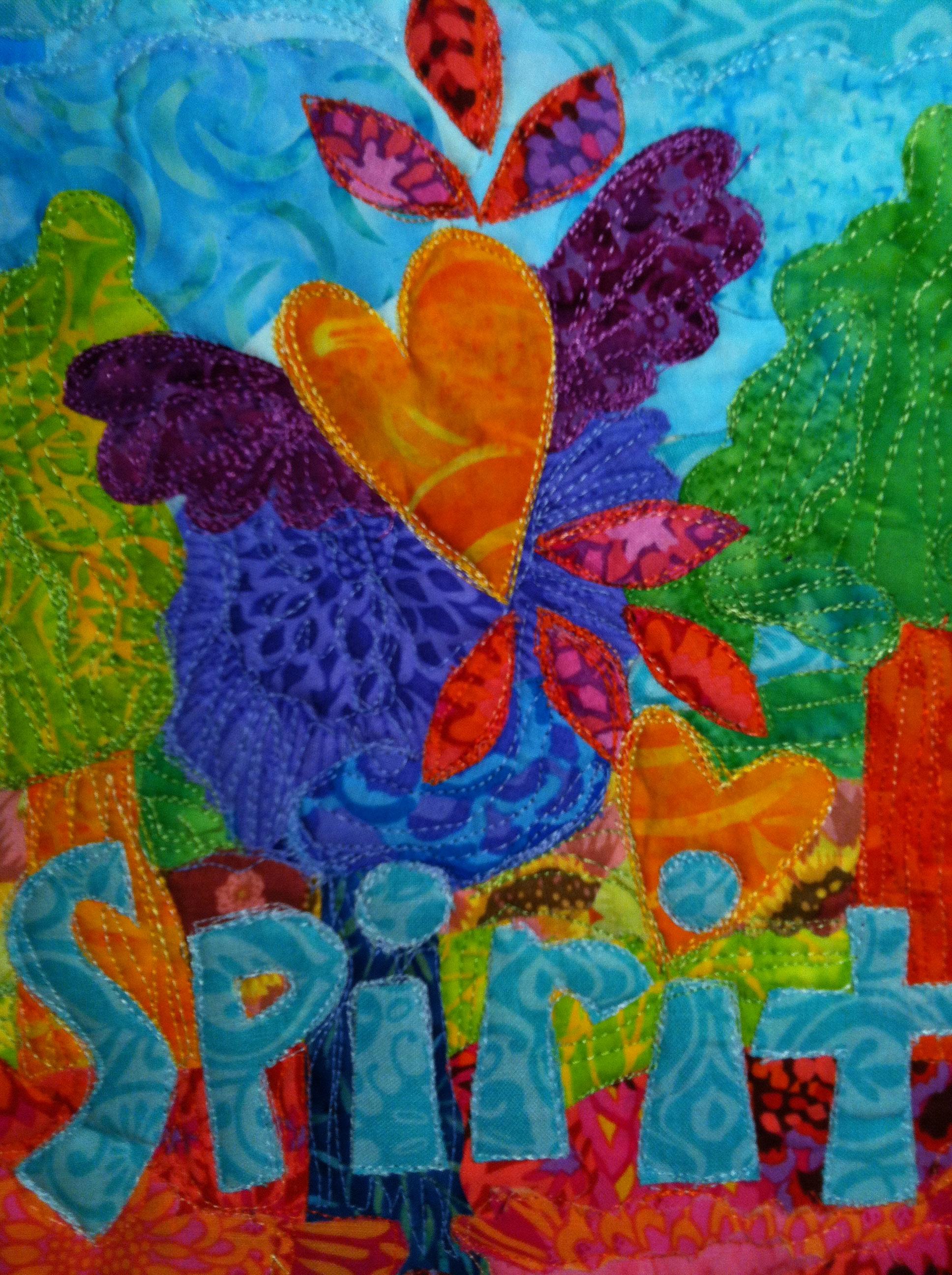 Art Quilt and Stitch