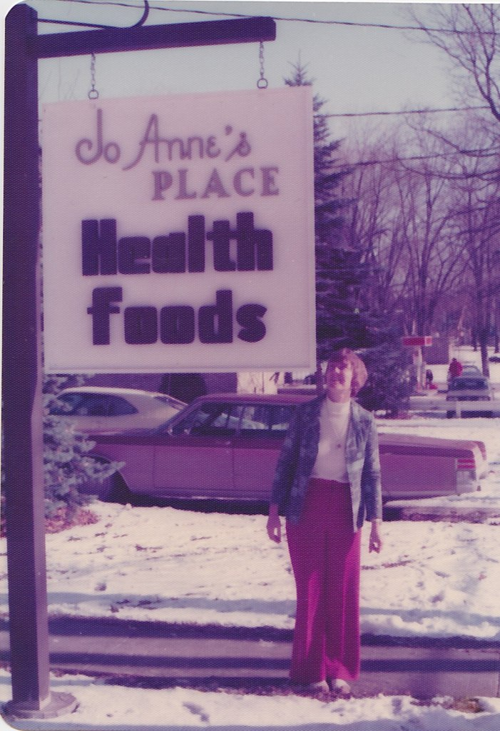 Jo Anne's Place Health Foods 1976