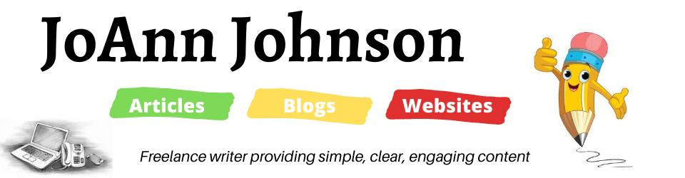 JoAnn Johnson Website Banner
