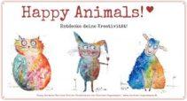 Happy Animals Malkurs von Clarissa Hagenmeyer als perfektes Weihnachtsgeschenk