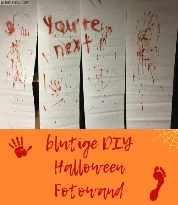 "blutige ""you're next"" Halloween Fotowand"