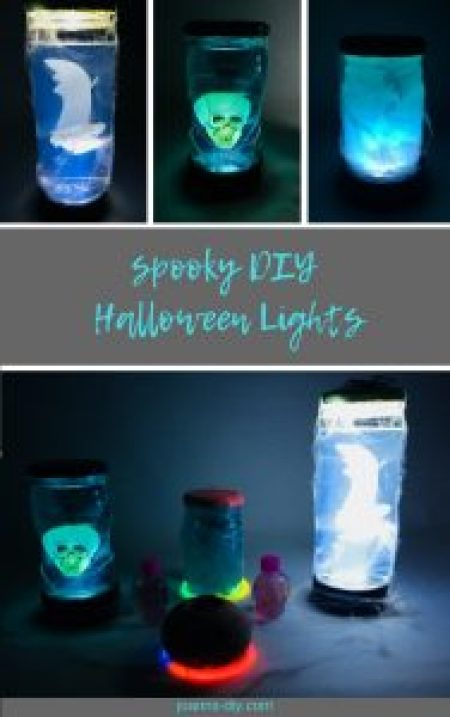 spooky diy halloween lights