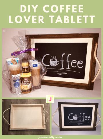 DIY Coffee Lover Tablett