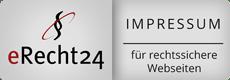eRecht24.de Impressum Siegel