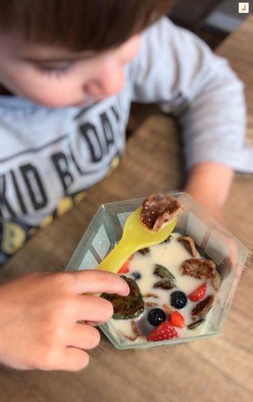 Pancake cereal - Kinder lieben die Mini Pfannkuchen lieben