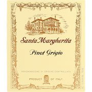 Label for Santa Margherita Pinot Grigio