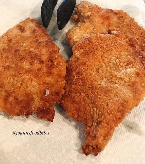 Crispy Fried Pork Chops