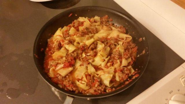 One Skillet Lasagna recipe JoAnn's Food Bites