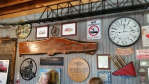 Whistle Stop Cafe inside decor