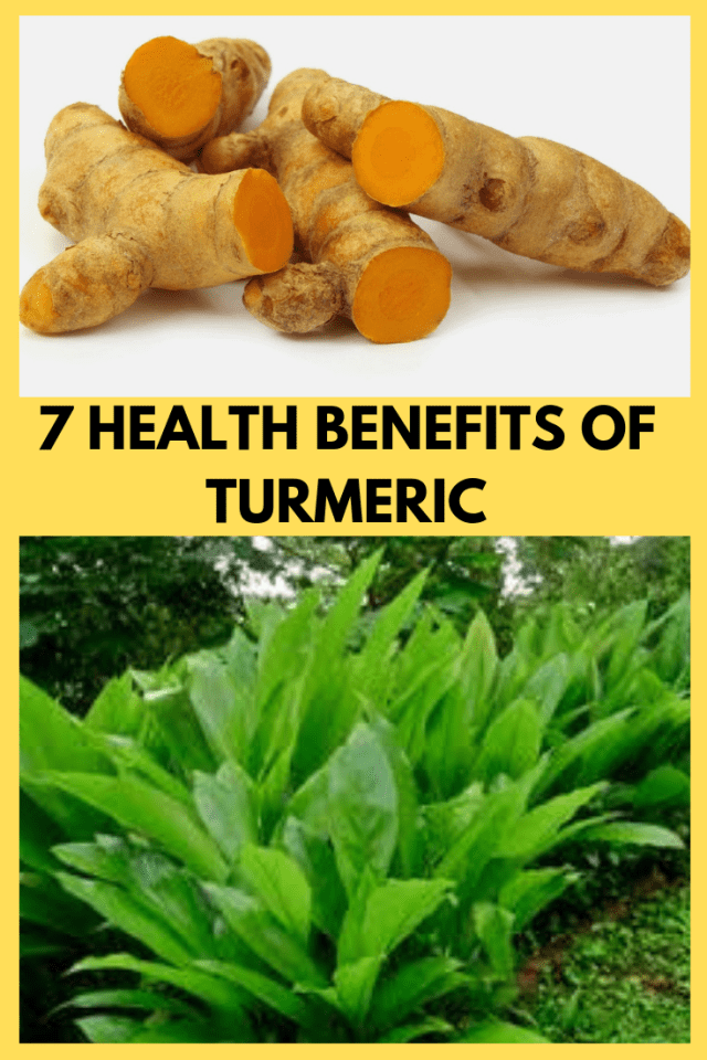 7 health benefits of turmeric