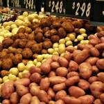 Potatoes main ingredient in potato sausage hash
