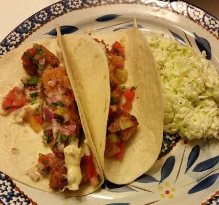 100 Days of Real Food Recipe for Fish Tacos