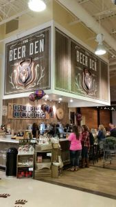The Beer Den at Lowe's Foods