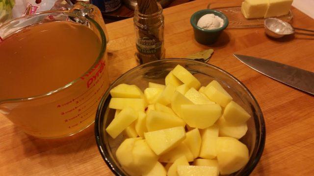 Leek Potato Soup Ingredients