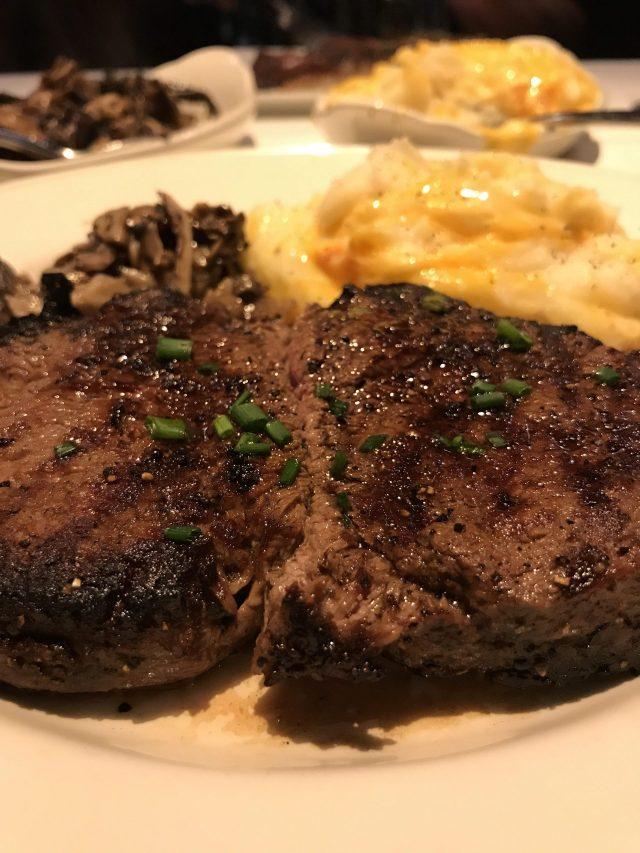 Rick Erwin Clemson Filet steak