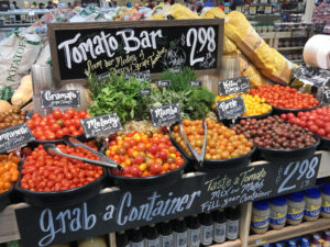 Tomato bar at Ingles