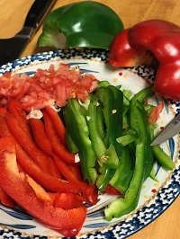 peppers for the egg and pepper recipe