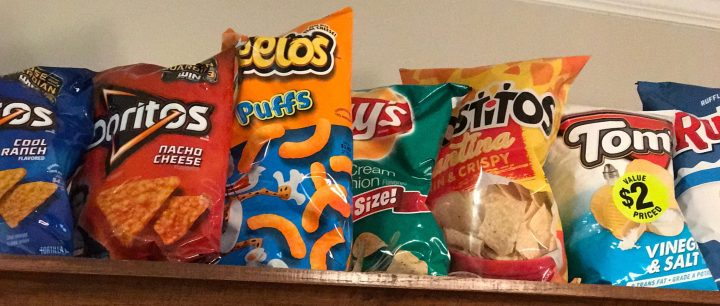 processed food chips
